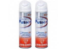 GILLETTE FUSION HYDRAGEL PURE & SENSITIVE SHAVE GEL 200ML