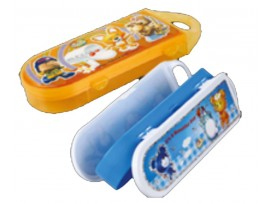 JOYFUL DISNEY TWO TONE MINI PENCIL BOX