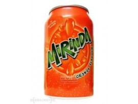 MIRINDA ORANGE IN 250 ML CAN