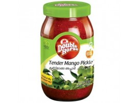 DOUBLE HORSE TENDER MANGO PICKLE 400GM BOTTLE