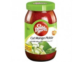 DOUBLE HORSE CUT MANGO PICKLE 400GM BOTTLE