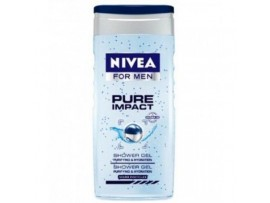 NIVEA BATH CARE SHOWER GEL  PURE FOR MEN 250ML