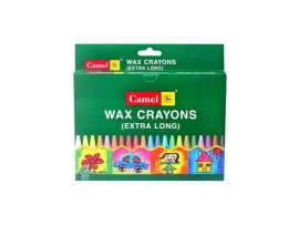 CAMLIN EXTRA LONG WAX CRAYONS 13 SHADES PACK