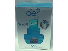 GODREJ AER CLICK CAR AIR FRESHNER REFILL COOL SURF BLUE 9ML