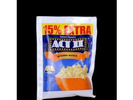 ACT II INSTANT POPCORN 70 GM GOLDEN SIZZLE