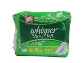 WHISPER ULTRA SOFT 15'S PADS