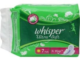 WHISPER ULTRA SOFT XL WINGS 7'S PADS