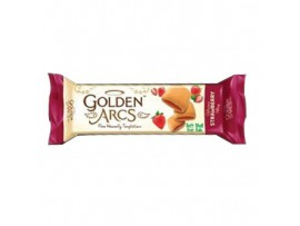 PARLE GOLDEN ARCS STRAWBERRY FILLNG 150GM