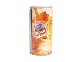 AMUL KOOLMILKSHAKE BADAM 180ML CAN