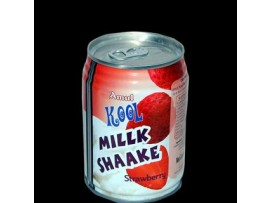 AMUL KOOLMILKSHAKE STRAWBERRY 180ML CAN