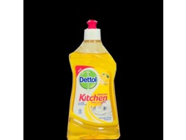 DETTOL DISH & SLAB GEL LEMON FRESH 400ML