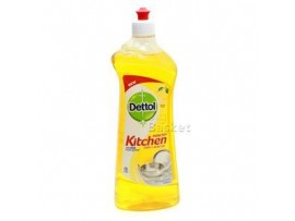 DETTOL DISH & SLAB GEL LEMON FRESH 750ML
