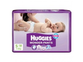 HUGGIES WONDER PANTS SMALL 18'S