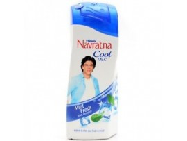 HIMANI NAVRATNA MINT FRESH TALC 400GM