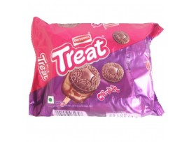 BRITANNIA TREAT CHOCOLATE CREAM BISCUIT 150GM
