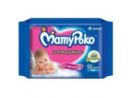 MAMY POKO BABY WIPES 52'S