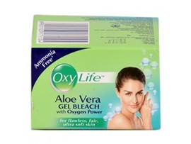 OXY LIFE ALOE VERA GEL BLEACH 24GM