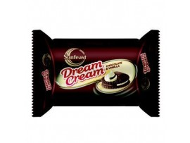 SUNFEAST DREAMCREAM CHOCOLATE VANILLA 60GM