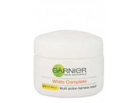 GARNIER SKIN NATURALS WHITE COMPLETE FAIRNESS CREAM SPF17 40GM