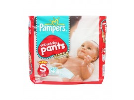 PAMPERS PANTS SMALL 46'S