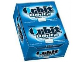 WRIGLEY'S ORBIT WHITE SUGAR FREE 9.9GM