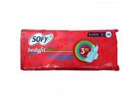 SOFY BODYFIT SLIM XTRA LARGE 12'S PAD