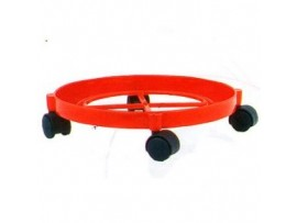 ANJALI PLASTIC GAS TROLLEY ROUND
