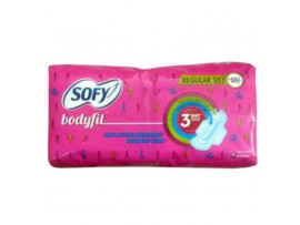 SOFY BODYFIT REGULAR 16'S  PAD