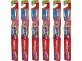 COLGATE 360 VISIBLE WHITE TOOTH BRUSH SINGLE PACK