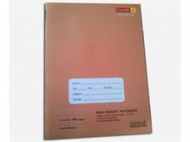 CAMLIN NOTE BOOK SINGLE LINE SOFT COVER 76 PAGES (272X167 MM)
