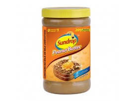 SUNDROP PEANUT BUTTER HONEY ROAST CRUNCHY 100GM