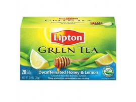 LIPTON GREEN TEA HONEY LEMON 20S TEA BAGS