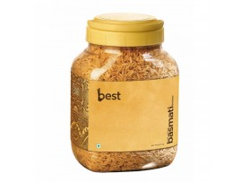BEST BROWN BASMATI RICE 1KG JAR