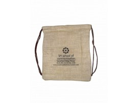 JUTE BACK PACK (NATURAL)