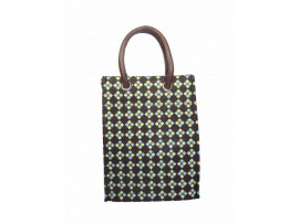 DESIGNER TIFFIN BAG (MULTICOLOUR DIAMOND)