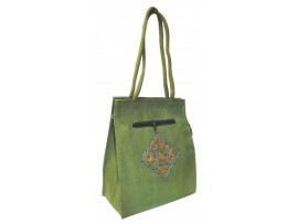 DESIGNER LADIES HANDBAG (GREEN)