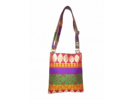 DESIGNER LADIES SLING BAG  FIR FLY-R FLY (BANARAS DESIGN)
