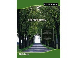 ITC CLASSMATE DOUBLE LINE NOTE BOOK SOFT BIND SCHOOL SIZE 172 PAGES