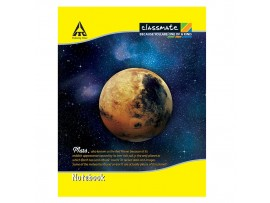 ITC CLASSMATE RULED MATHS NOTE BOOK SOFT BIND 190 X 155 SIZE  92 PAGES