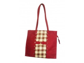 CLASSIC DESIGNER LADIES TOTES LB-03 (RED)