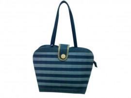 DESIGNER LADIES HANDBAG LB-18 (BLUE)