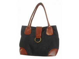 DESIGNER LADIES HAND BAG LB-59 (BLACK)