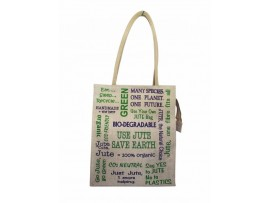 PRINTED DESIGNER LONG TOTES (TEXT PRINT)