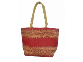 DESIGNER LADIES TOTES SB-04 (RED)