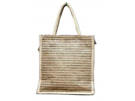 DESIGNER JUTE TIFFIN BOX BAG