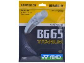 YONEX BG 65 BADMINTON STRINGS SET OF 5