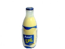 AMUL KOOLFLAV. MILK KESAR 200ML BOTTLE