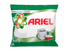 Ariel Base Best Stain Removal in 1 Wash 500GM