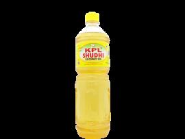 KPL SHUDHI COCONUT OIL 1L PET BOTTLE