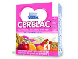 Nestle Cerelac - Multi Grain 5 Fruits (Stage 4), 300 gm Carton